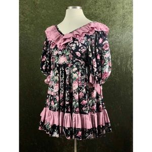 VTG🌈Lolita cottagecore gothic inspired dress